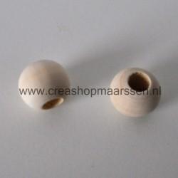 houten kraal 25 mm (4 stuks)
