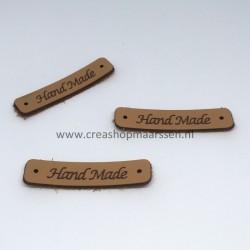 handmade - label kunstleer...
