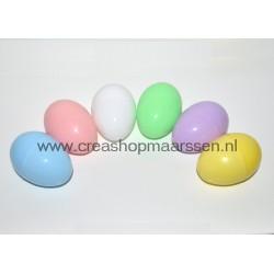 plastic eieren groot (set)