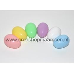 plastic eieren klein (set)